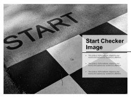 Start Checker Image