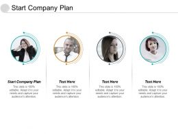 Start Company Plan Ppt Powerpoint Presentation Styles Icons Cpb