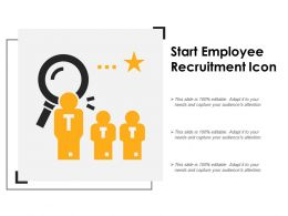Start Employee Recruitment Icon