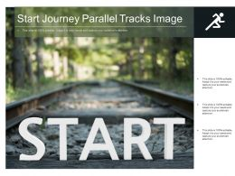 Start Journey Parallel Tracks Image