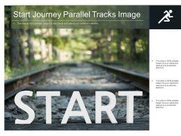 Start Journey Parallel Tracks Image