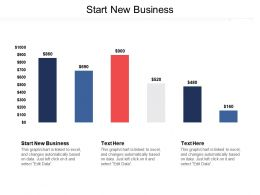 Start New Business Ppt Powerpoint Presentation Gallery Rules Cpb