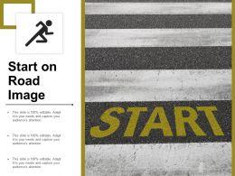 Start On Road Image