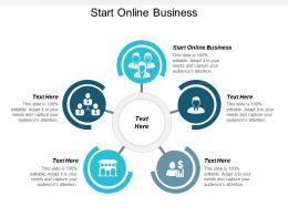 Start Online Business Ppt Powerpoint Presentation Infographics Design Inspiration Cpb