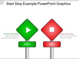 Start Stop Example Powerpoint Graphics