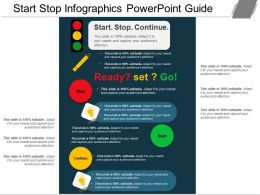 Start Stop Infographics Powerpoint Guide
