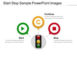 Start Stop Sample Powerpoint Images