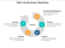 Start Up Business Marketing Ppt Powerpoint Presentation Outline Skills Cpb
