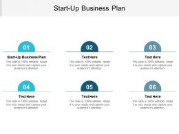 Start Up Business Plan Ppt Powerpoint Presentation Gallery Graphics Cpb