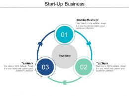 Start Up Business Ppt Powerpoint Presentation Infographics Model Cpb