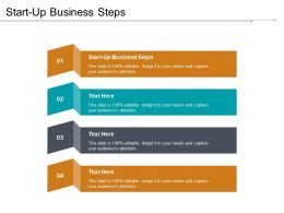 Start Up Business Steps Ppt Powerpoint Presentation Gallery Outfit Cpb