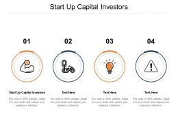 Start Up Capital Investors Ppt Powerpoint Presentation Template Cpb