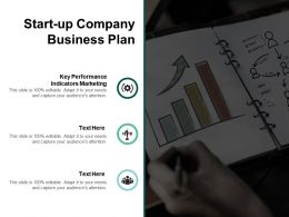 Start Up Company Business Plan Ppt Powerpoint Presentation Show Ideas Cpb