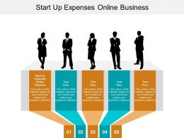 Start Up Expenses Online Business Ppt Powerpoint Presentation Summary Slides Cpb