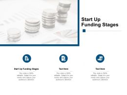 Start Up Funding Stages Ppt Powerpoint Presentation Pictures Icon Cpb