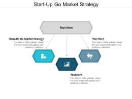 Start Up Go Market Strategy Ppt Powerpoint Presentation Infographic Template Example 2015 Cpb