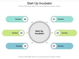 Start Up Incubator Ppt Powerpoint Presentation Infographic Template Ideas Cpb