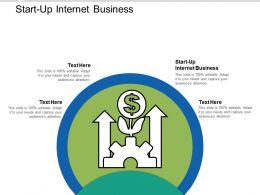 Start Up Internet Business Ppt Powerpoint Presentation Infographic Template Clipart Images Cpb