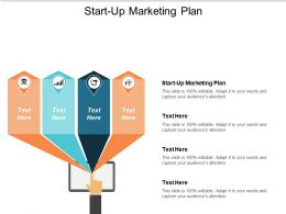Start Up Marketing Plan Ppt Powerpoint Presentation Gallery Design Inspiration Cpb
