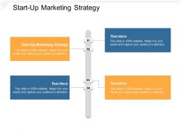 Start Up Marketing Strategy Ppt Powerpoint Presentation Model Inspiration Cpb