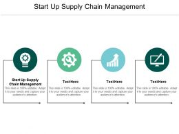 Start Up Supply Chain Management Ppt Powerpoint Presentation Summary Demonstration Cpb