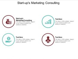 Start Ups Marketing Consulting Ppt Powerpoint Presentation Outline Skills Cpb
