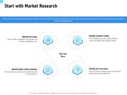 Start With Market Research Trends Ppt Powerpoint Presentation Ideas Deck