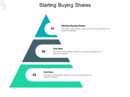 Starting Buying Shares Ppt Powerpoint Presentation Infographic Template Summary Cpb