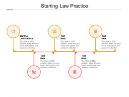 Starting Law Practice Ppt Powerpoint Presentation Infographics Grid Cpb