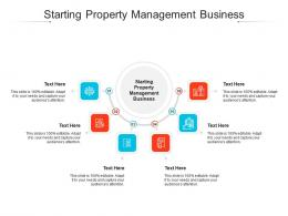 Starting Property Management Business Ppt Powerpoint Presentation Summary Portfolio Cpb