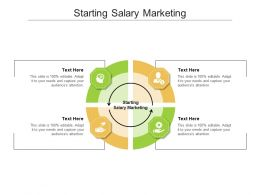 Starting Salary Marketing Ppt Powerpoint Presentation File Example Cpb