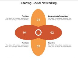 Starting Social Networking Ppt Powerpoint Presentation Gallery Format Cpb
