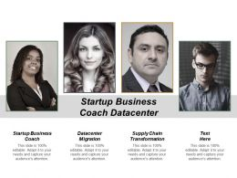 Startup Business Coach Datacentre Migration Supply Chain Transformation Cpb