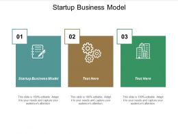 Startup Business Model Ppt Powerpoint Presentation Portfolio Demonstration Cpb
