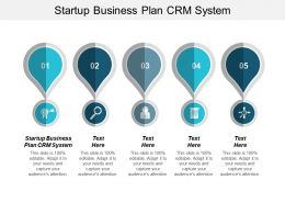 Startup Business Plan CRM System Ppt Powerpoint Presentation Show Example Introduction Cpb