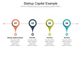Startup Capital Example Ppt Powerpoint Presentation Outline Slides Cpb