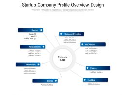 Startup Company Profile Overview Design