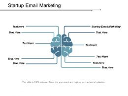 Startup Email Marketing Ppt Powerpoint Presentation Model Sample Cpb
