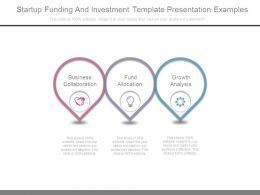 Startup Funding And Investment Template Presentation Examples