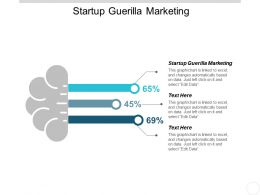 Startup Guerilla Marketing Ppt Powerpoint Presentation Infographic Template Ideas Cpb