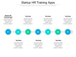 Startup HR Training Apps Ppt Powerpoint Presentation Pictures Slides Cpb