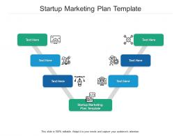 Startup Marketing Plan Template Ppt Powerpoint Presentation Pictures Ideas Cpb