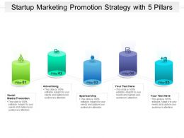 Startup Marketing Promotion Strategy With 5 Pillars