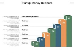 Startup Money Business Ppt Powerpoint Presentation Professional Aids Cpb