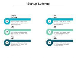 Startup Suffering Ppt Powerpoint Presentation Ideas Portfolio Cpb