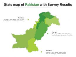 State Map Of Pakistan With Survey Results