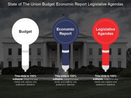 State Of The Union Budget Economic Report Legislative Agendas