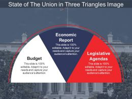 State Of The Union In Three Triangles Image