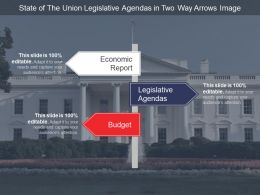 State Of The Union Legislative Agendas In Two Way Arrows Image