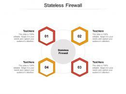 Stateless Firewall Ppt Powerpoint Presentation Model Good Cpb